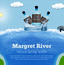 Margaret river natural spring water